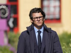 Joey Barton arriving at Sheffield Crown Court where he is charged with causing actual bodily harm to the then Barnsley manager Daniel Stendel in April 2019 (Danny Lawson/PA)