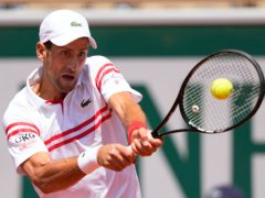 Novak Djokovic, pictured, battled back to beat Lorenzo Musetti (Michel Euler/AP)