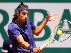Lorenzo Musetti threatened a major upset before fading (Michel Euler/AP)