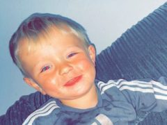 Two-year-old Greyson Birch (Hampshire Police)