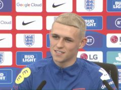 Phil Foden has dyed his hair ahead of the Euros (The FA)