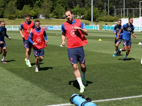 England trained at St George's Park on Wednesday (Nick Potts/PA)