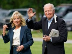 President Joe Biden and First Lady Jill Biden will be in the UK for the G7 summit (Evan Vucci/AP)