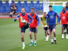 Harry Kane and his England team-mates have been preparing for their Euro 2020 opener this week. (Nick Potts/PA)