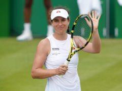 Johanna Konta is through to the Nottingham Open quarter-final (Zac Goodwin/PA)