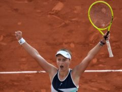 Barbora Krejcikova has surprised herself at Roland Garros (Christophe Ena/AP)
