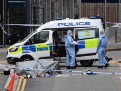 The incident occurred in Hayes, west London, on Friday morning (Ian West/PA)
