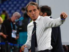 Roberto Mancini's Italy saw off Turkey 3-0 (Alessandra Tarantino/AP)