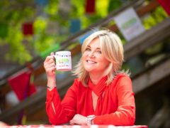 Anthea Turner attends The Big Lunch (David Parry/PA)
