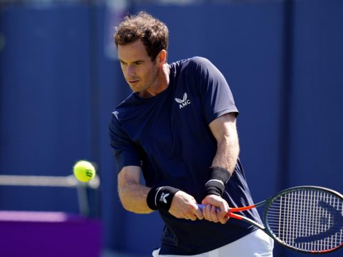 Andy Murray is back at Queen's Club (John Walton/PA)