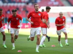 Harry Kane is focused firmly on leading England to Euro 2020 glory (Nick Potts/PA)