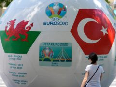 Wales play Turkey in a crunch Euro 2020 clash in Baku on Wednesday (Darko Vojinovic/AP)