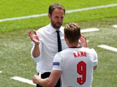 Gareth Southgate was delighted by the team effort on Sunday (Martin Rickett/PA)