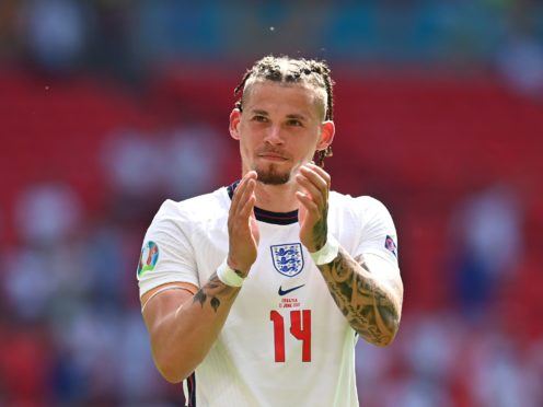 Kalvin Phillips claimed the official England man of the match award (Glyn Kirk/AP)