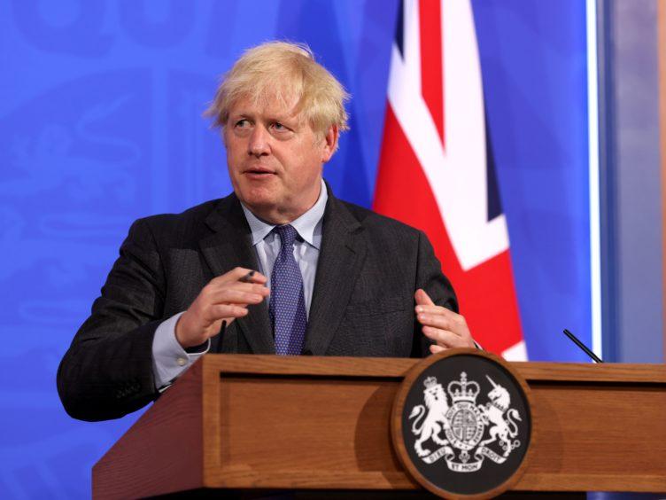 Prime Minister Boris Johnson (Jonathan Buckmaster/Daily Express)