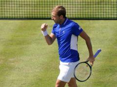 Dan Evans beat Alexei Popyrin in straight sets (John Walton/PA)