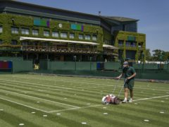 Andy Murray will play singles at the All England Club for the first time since 2017 (AELTC/Thomas Lovelock/PA)