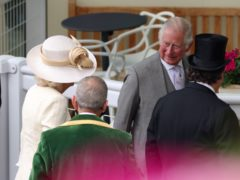 The Prince of Wales and the Duchess of Cornwall arrive for day two of Royal Ascot (Steven Paston/PA)