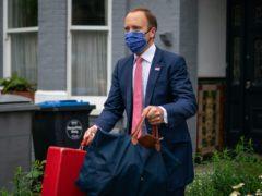 Health Secretary Matt Hancock has faced difficult headlines in recent weeks (Aaron Chown/PA)