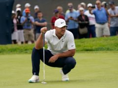 Brooks Koepka was well placed after day one of the US Open (Marcio Jose Sanchez/AP)