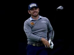 Louis Oosthuizen held a share of the lead after the first round of the US Open (Gregory Bull/AP)