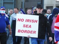 Unionists are worried the Northern Ireland Protocol is separating the region from the rest of the UK (Brian Lawless/PA)