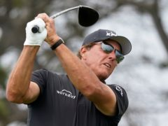 Phil Mickelson carded a final round of 75 in the US Open (Marcio Jose Sanchez/AP)