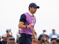Rory McIlroy carded a third round of 67 in the US Open (Jae C. Hong/AP)