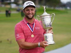 Jon Rahm won the 121st US Open at Torrey Pines (Marcio Jose Sanchez/AP)