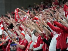 Denmark supporters have been told by the Danish Government they can travel to Amsterdam to watch the last-16 Euro 2020 game against Wales (Martin Meissner/AP)