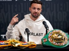 Scottish fighter Josh Taylor is determined to make more boxing history (Kirsty O'Connor/PA)