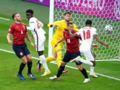 Raheem Sterling scored England's winner (Mike Egerton/PA)