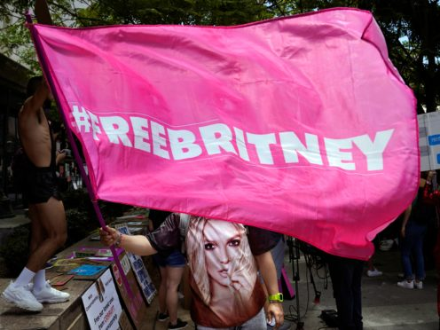 Britney Spears has apologised to fans for not sharing the trauma over her conservatorship sooner (AP Photo/Chris Pizzello)