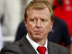 Steve McClaren relaunched his career in Holland after failing to lead England to Euro 2008 (Sean Dempsey/PA)