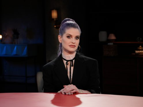 TV personality Kelly Osbourne will appear in an episode of Red Table Talk to discuss her battle with drug and alcohol addiction. (Jordan Fischer/Red Table Talk via AP)
