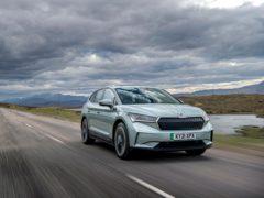 The Enyaq sits on Volkswagen Group's MEB platform