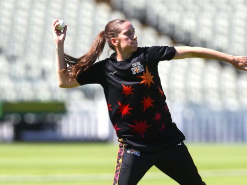 Emily Arlott has been called up by England for this month's one-off Test against India (Laura Malkin/ECB/PA handout)