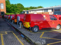 Increase in electric Royal Mail vans announced (Royal Mail/PA)