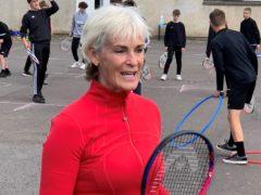 Judy Murray taking tennis to Scottish schools (Ronnie Esplin/PA)