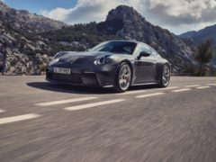 The 911 GT3 Touring has been released
