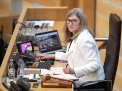Holyrood Presiding Officer Alison Johnstone made clear she expects 'substantial announcements' on Covid to be made in the Parliament. (Jane Barlow/PA)