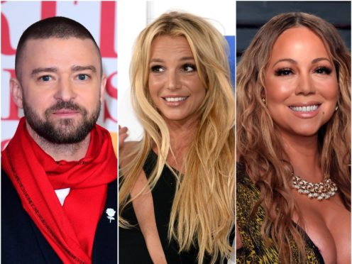 Justin Timberlake has joined celebrities including Mariah Carey in rallying around Britney Spears following her dramatic day in court (PA)