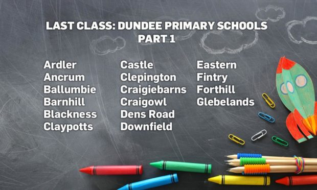 Last Class 2021: P7 photos from schools across Dundee (A-G)