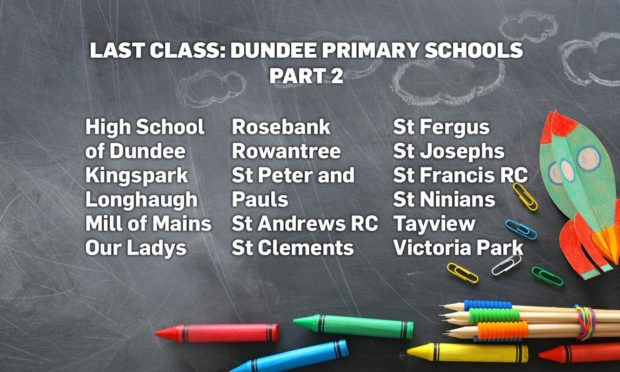Last Class 2021: P7 photos from schools across Dundee (H-Z)