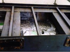 The drugs were hidden inside a fuel tank (Crown Office/PA)