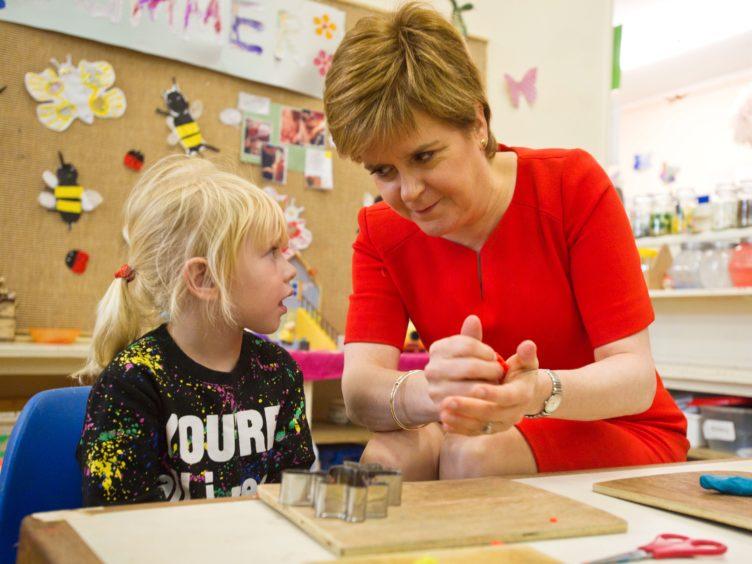 The Scottish Government has been urged to review guidance on children's nursery graduation ceremonies (John Gunion/The Scottish Sun/PA)