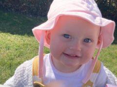 Ella-Grace Rimington's death is not being treated as suspicious (handout)