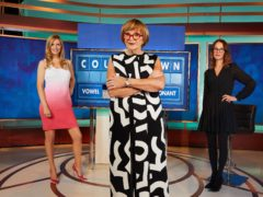 Rachel Riley and Susie Dent have welcomed Anne Robinson to the Countdown team (Channel 4/PA)