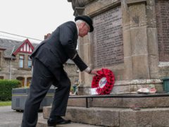 Wreaths will be laid at war memorials across the country to mark the centenary (Mark Owens/Legion Scotland/PA)