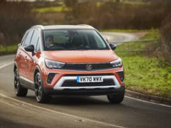 The Crossland is a practical crossover option